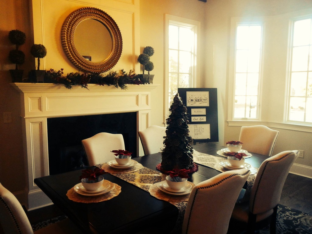 Christmas time at East Lake Estates in Auburn, AL