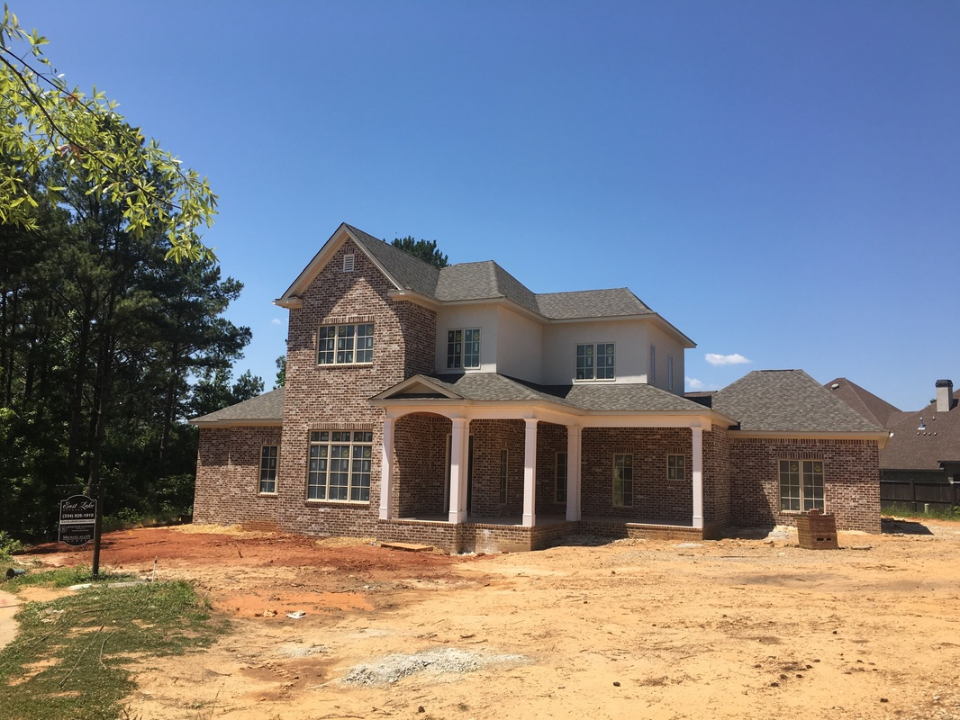 New construction in Auburn Alabama East Lake