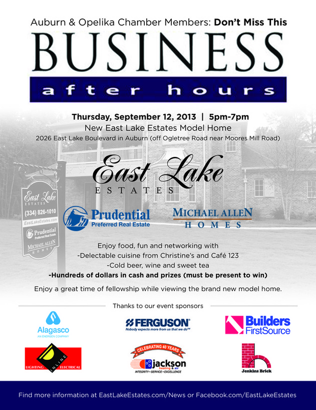 Business After Hours Auburn-Opelika Chamber of Commerce Sept 12 2013
