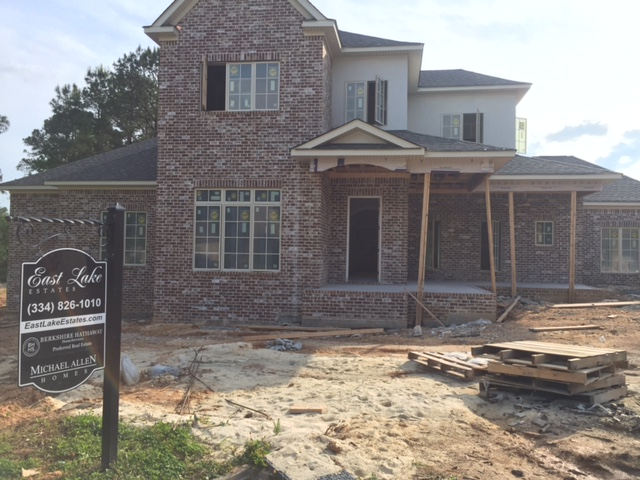 New construction in Auburn AL - east lake Estates