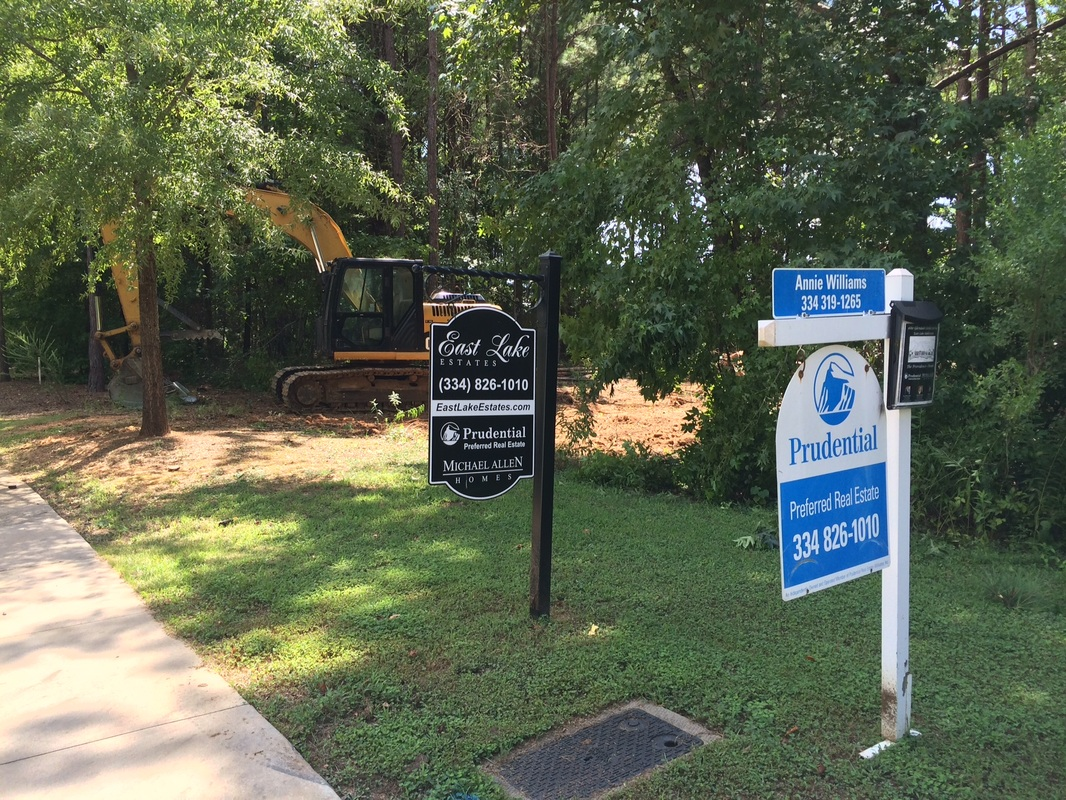 New home site in East Lake Estates - Lot 84 - on Glendale Drive
